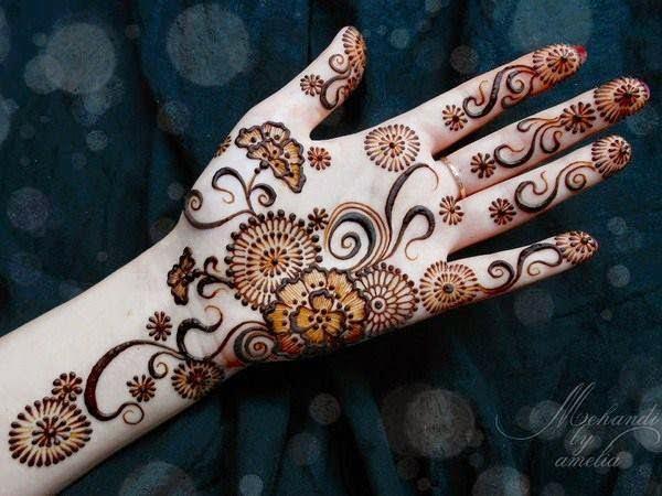 Mehndi Party Pics : Party mehndi designs henna b g fashion