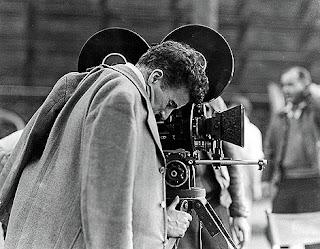 Chaplin rodando 'El gran dictador'