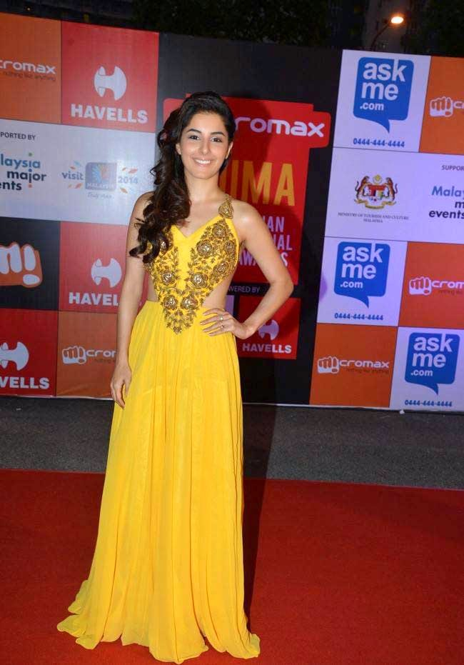 Isha Talwar At SIIMA Awards 2014
