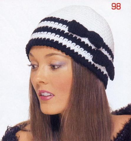 Knitted Hat Patterns For Ladies : free knitting pattern: ladies knitted hat patterns