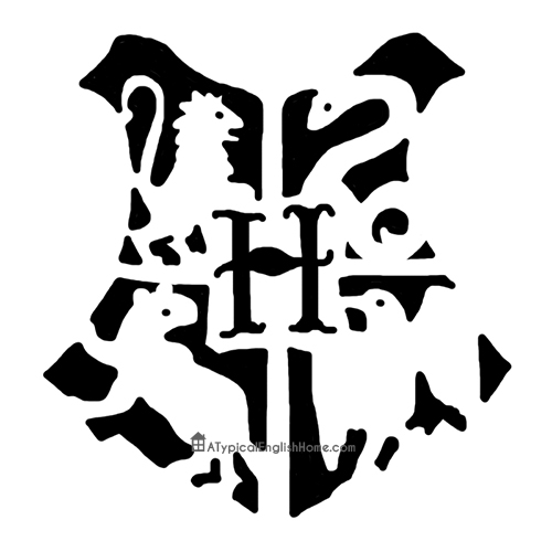 a typical english home harry potter hogwarts pumpkin stencil With harry potter pumpkin carving templates