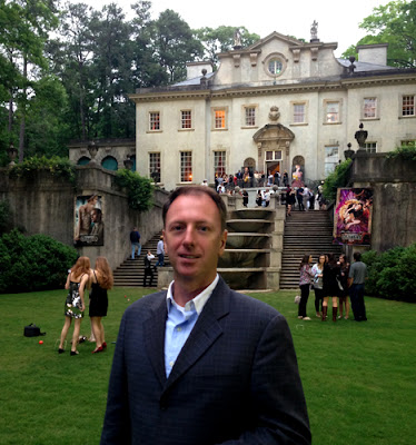 That's me, Travis, at Party With the Past at the Swan House