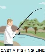 HOW TO CAST A FISHING LINE
