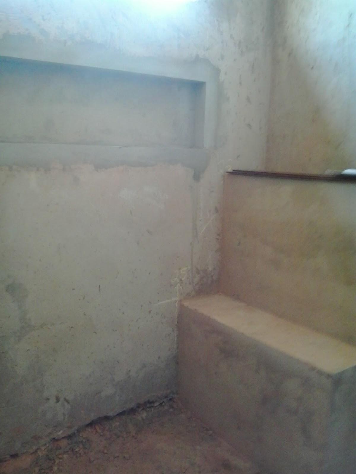 Banco no chuveiro Casa pra Casá #357F96 1200 1600