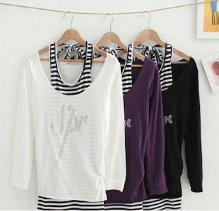 Best Wholesale Summer Tops D2340 Purple