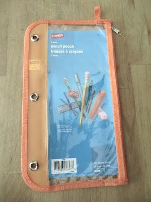pencil pouch organizer