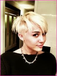 miley cyrus chopped haircut
