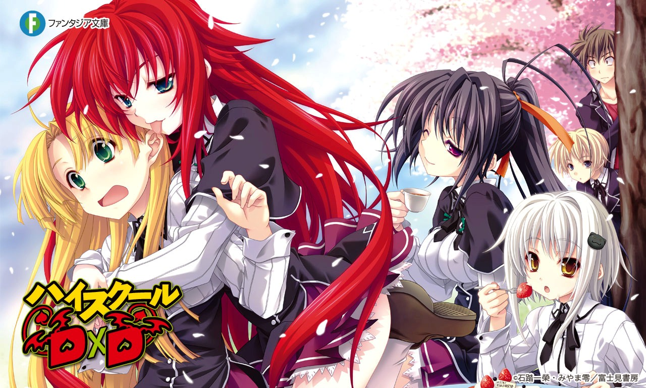 High School DxD [mf] [12/12] sin censura