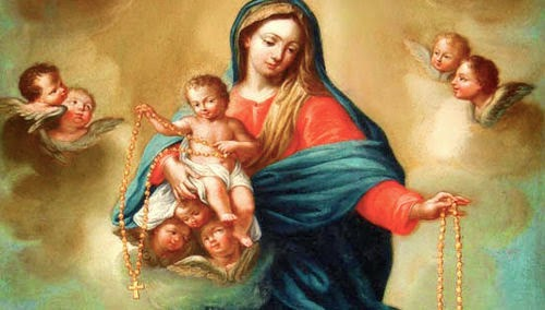 Importante: Las 15 promesas del Santo Rosario