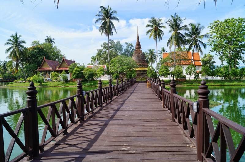 Wat Tra Phang Thong, templos de Sukhothai