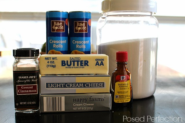 Sopapilla Cheesecake Bars Ingredients