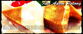 Cara Membuat Kue Apem Potong Istimewa Empuk dan Nikmat