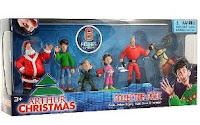 Arthur Christmas Collector Mini Figure 6Pack