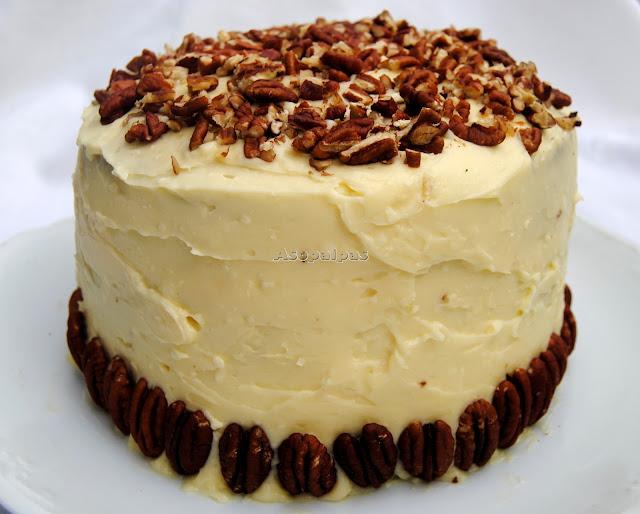 Pastel, Estados Unidos, Bizcochos, Buttercream, Piña, Banana, Merienda