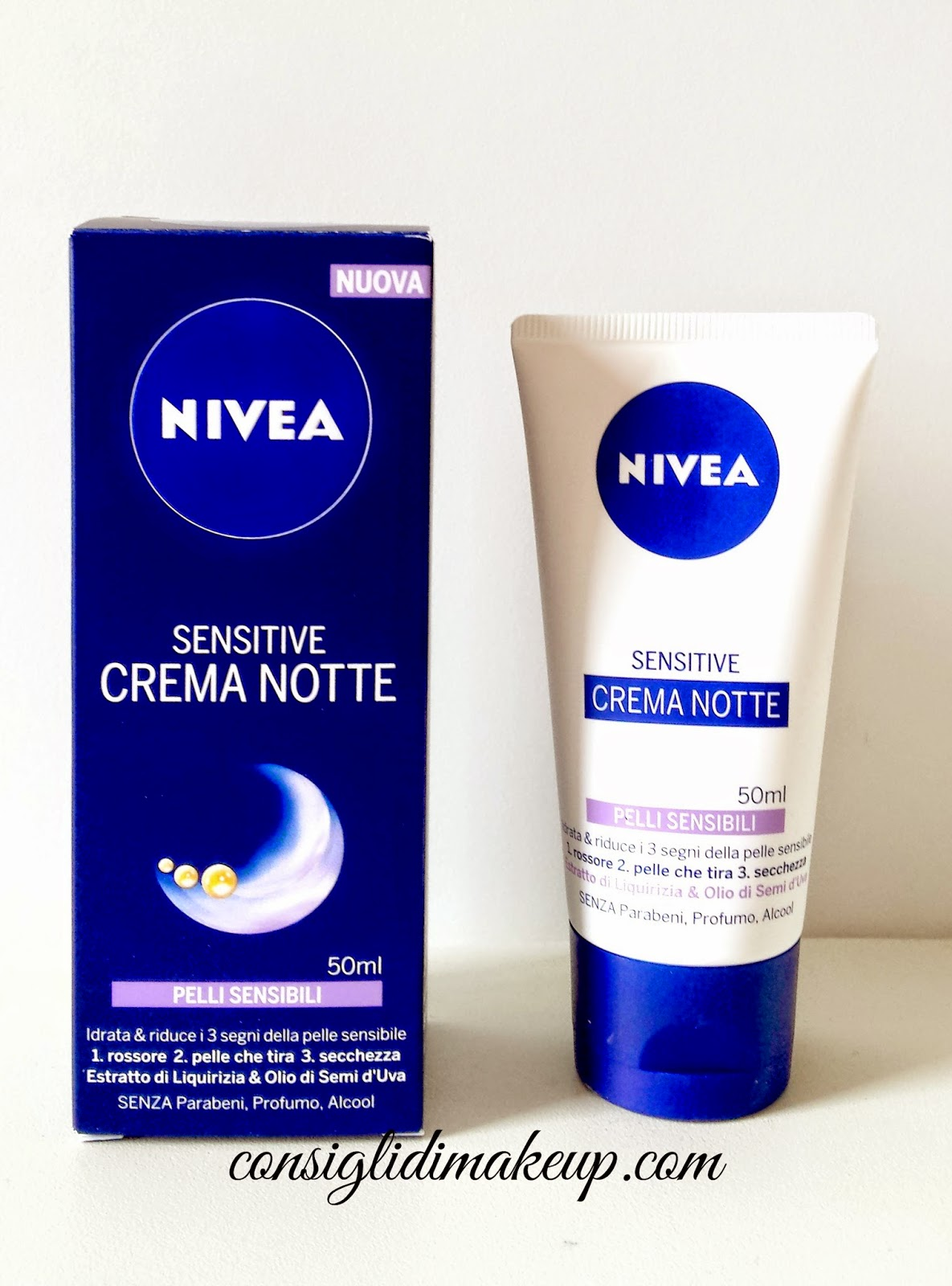 NIVEA Sensitive Crema Notte