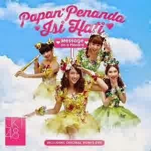 Album JKT48 Papan Penanda Isi Hati 2014