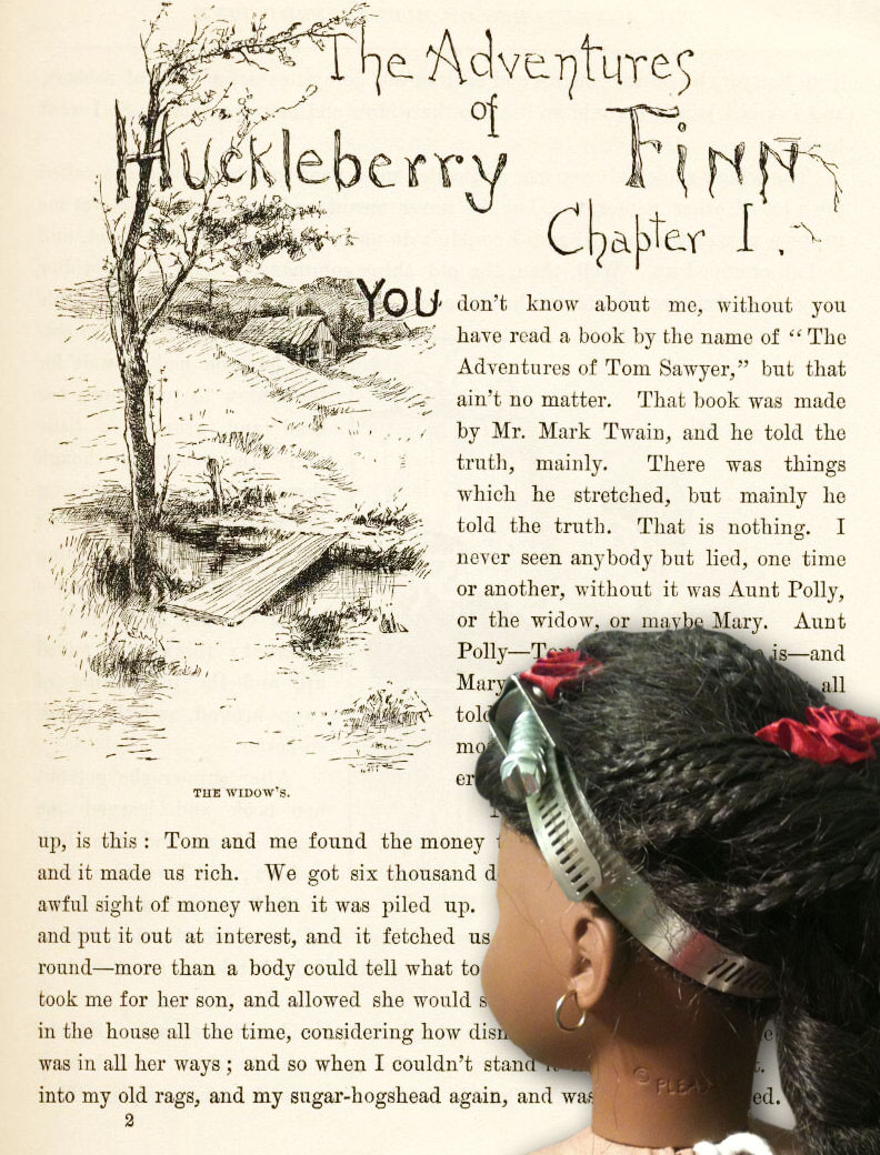 essay satire huckleberry finn