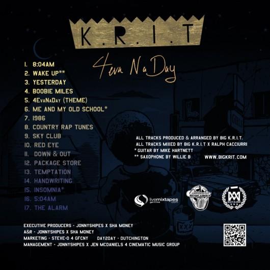 >Mixtape // Big K.R.I.T – 4evaNaDay