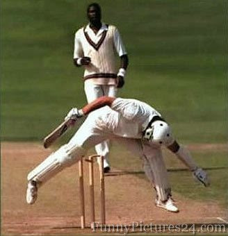 Funny pictures of cricket players