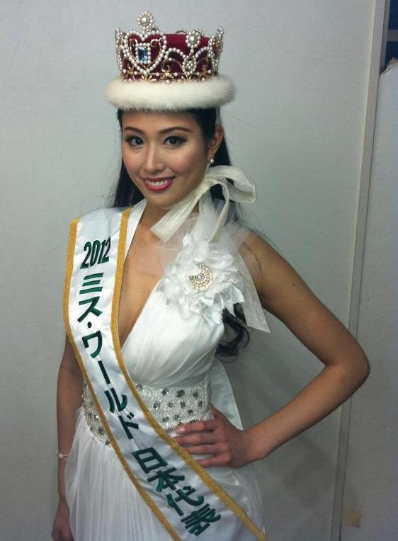 Rare Igarashi,Miss World Japan 2012
