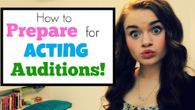 How to prepare for auditions