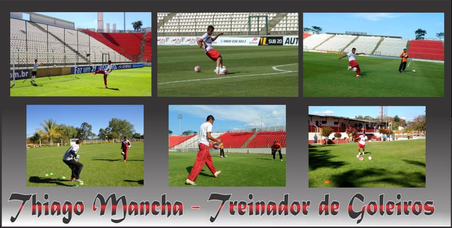 Thiago Mancha - Treinador de Goleiros.