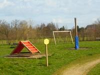 Etang de Chouzy-sur-Cisse : l'aire de jeu