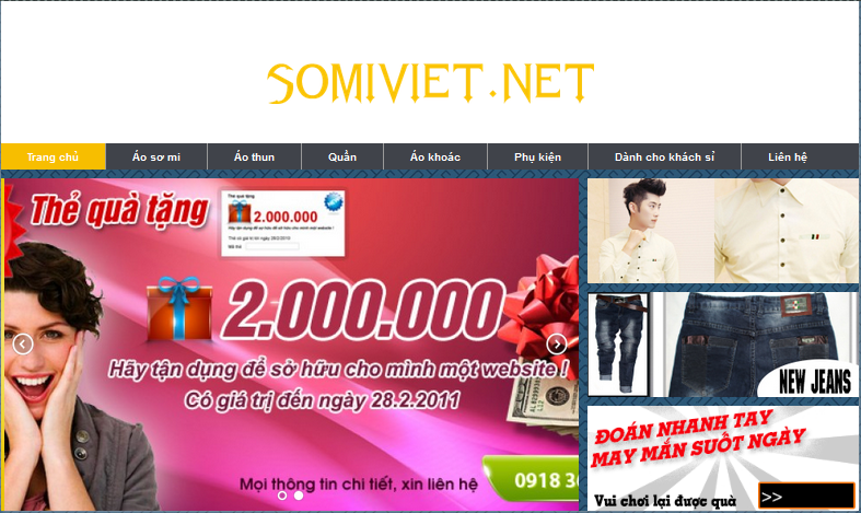 Hướng dẫn quản trị website somiviet.net
