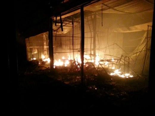 UpTown Shah Alam Sek 24 Terbakar 11 Gambar