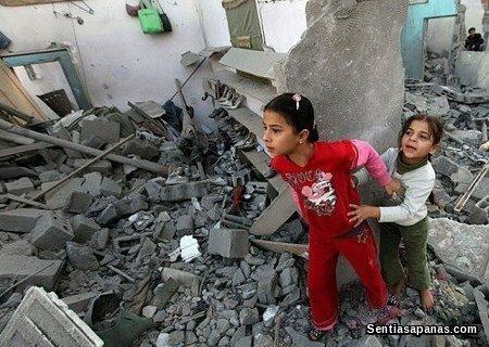 Kezaliman di Gaza