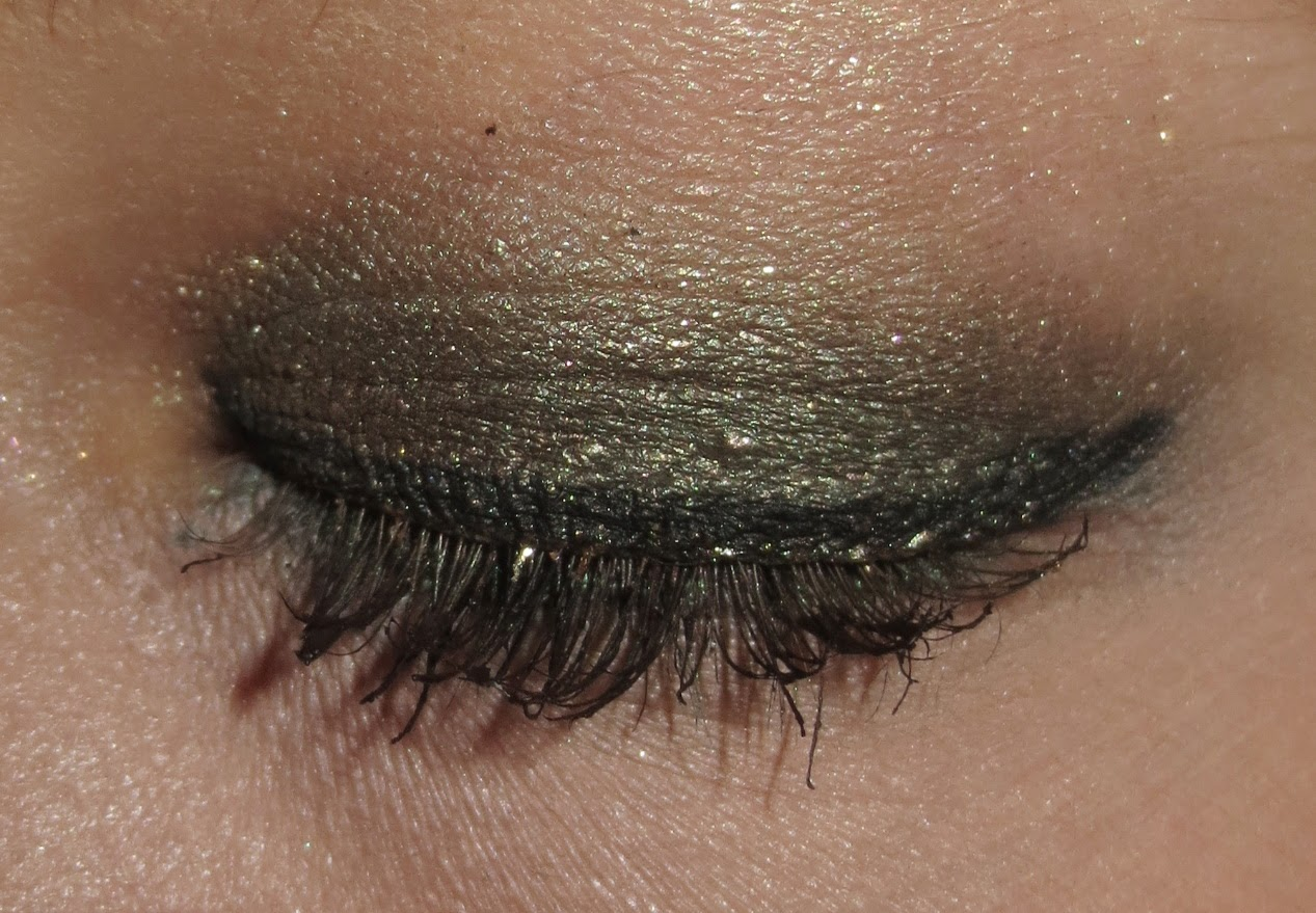 Gold & Green St. Patrick's Day EOTD