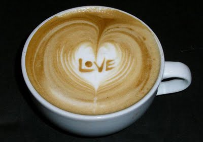 latte art love