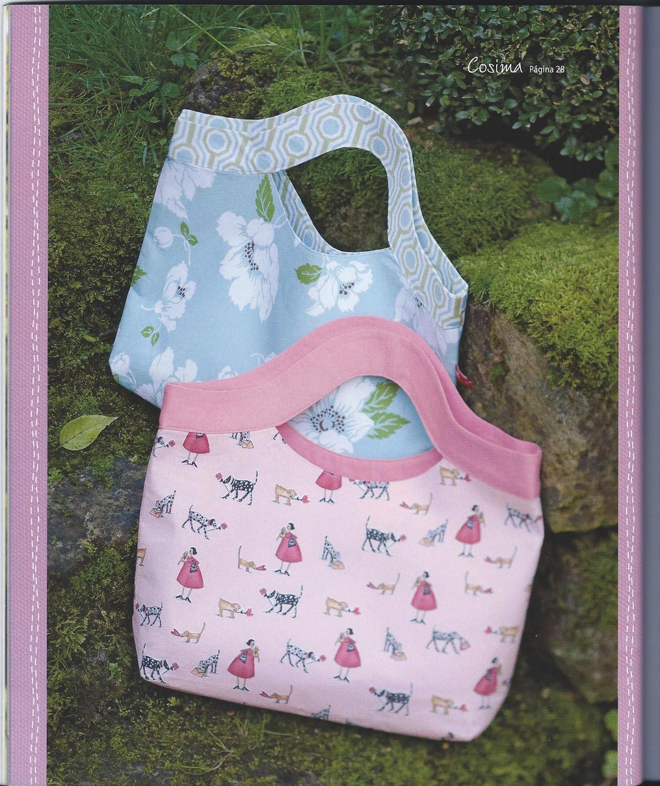 Atelier de judith libro bolsos de tela - Telas para hacer bolsos ...