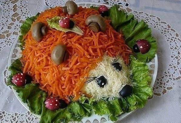 Необычный салат на новый год рецепт с