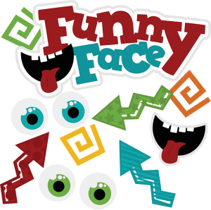Funny Face cut file by Miss Kate Cuttables