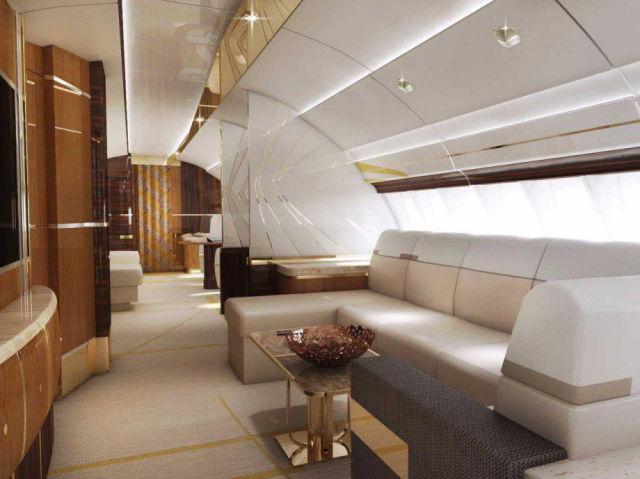 Un avion vraiment bien pr par le m me que le prochain for Interieur 747