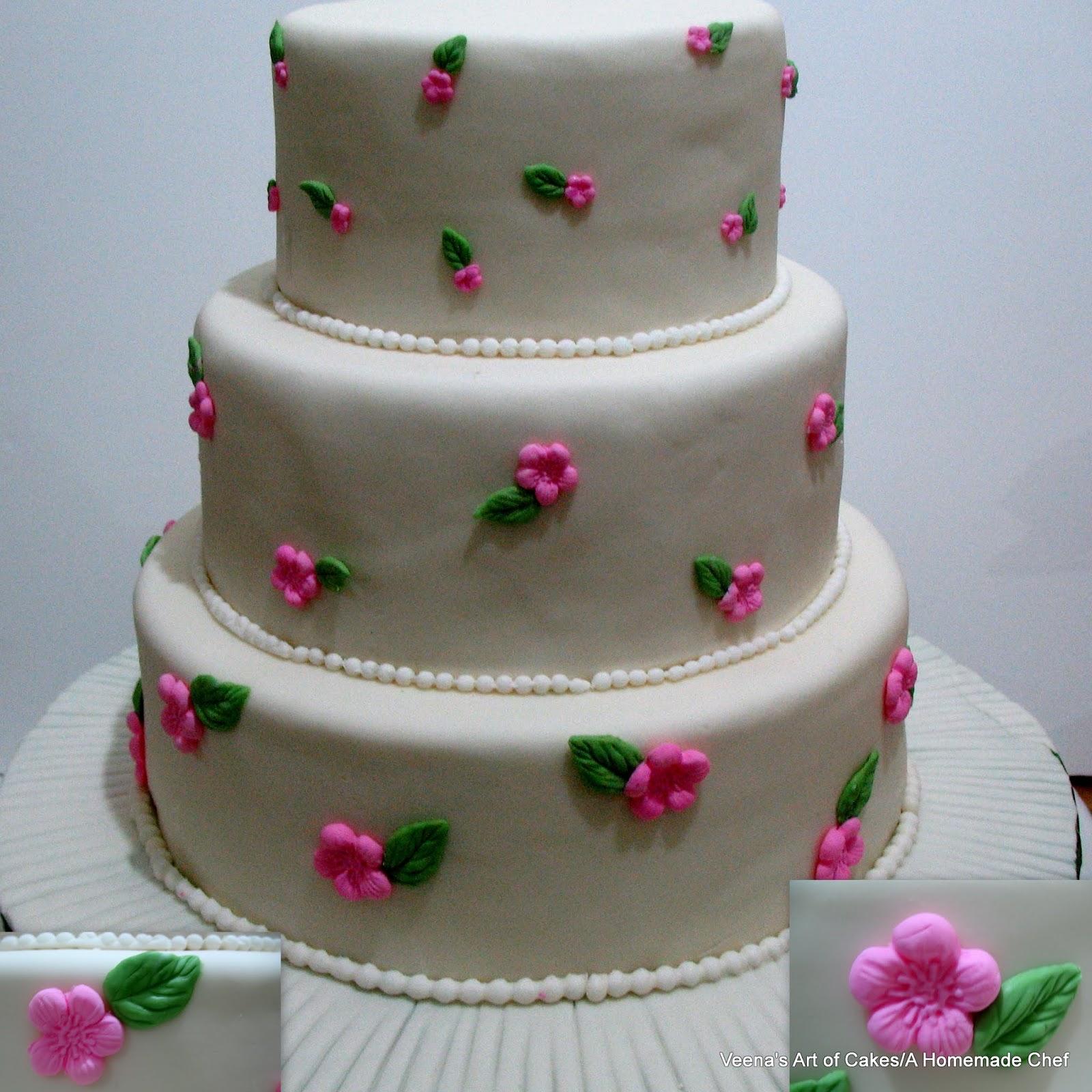 Two wedding cakes Veena Azmanov