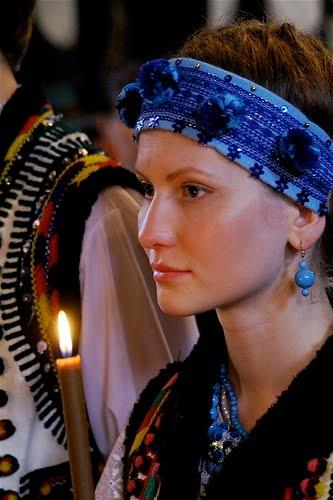 Українське весілля, наречена Анна