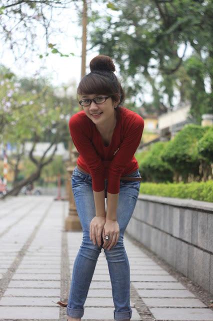 Hoang Ngoc Ha Hai Yen Xgen, girl xinh Yen Bai, gai xinh yen bai