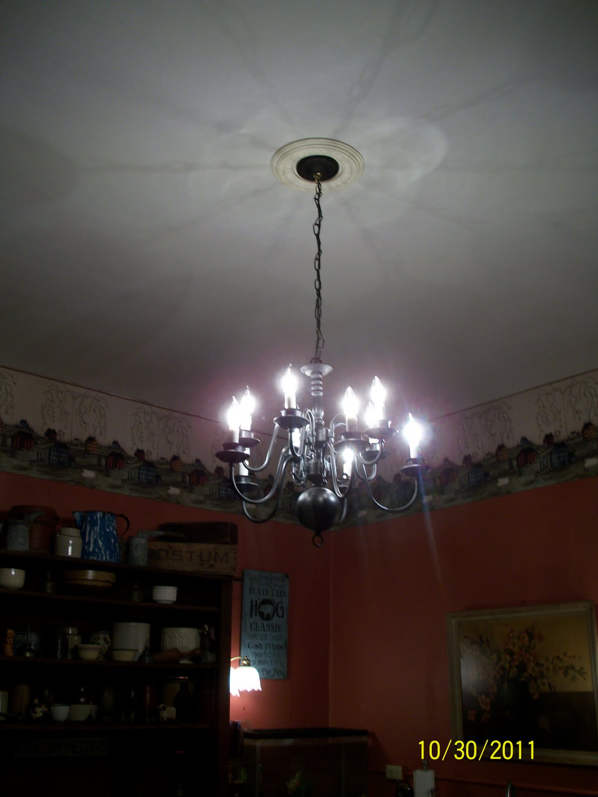 My Mother s Daughter Chandelier makeover