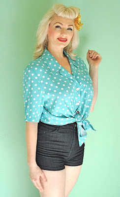 Vintage Style Blouses