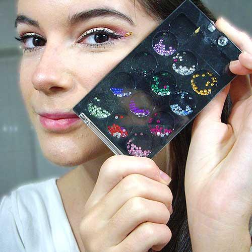 pegatinas de maquillaje para disfrazarte de angel en carnaval