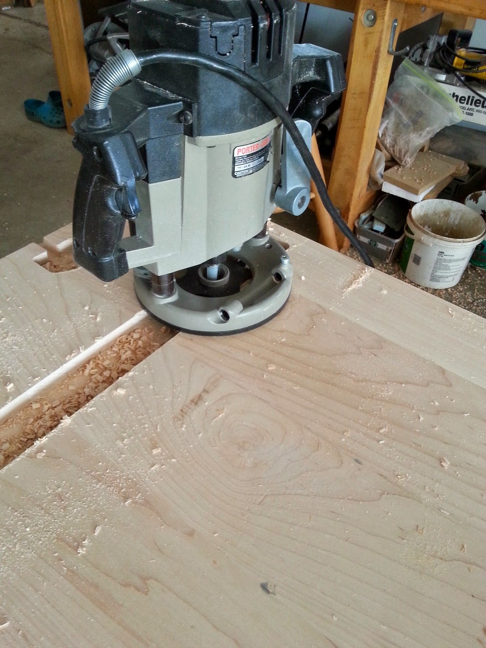 Kitchen Progress: Our DIY Solid Wood Kitchen Counters