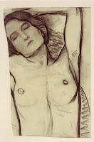 Mondrian B9  Reclining Nude