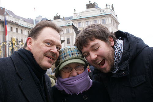 Americans in Prague
