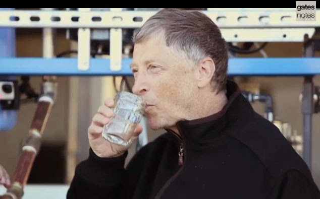 Máquina transforma fezes humanas em Água Potável: investimento de Bill Gates