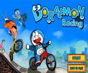 free online doraemon and nobita racing games