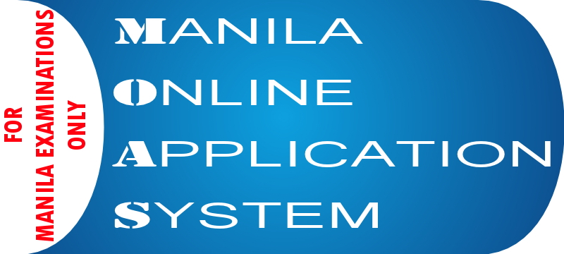 MANILA EXAM APPLICATION (ONLINE PAYMENT)