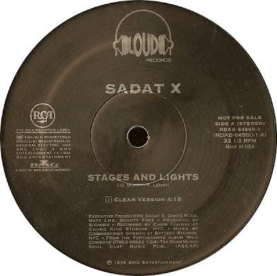 Sadat X – Stages & Lights (Promo VLS) (1996) (VBR V0)