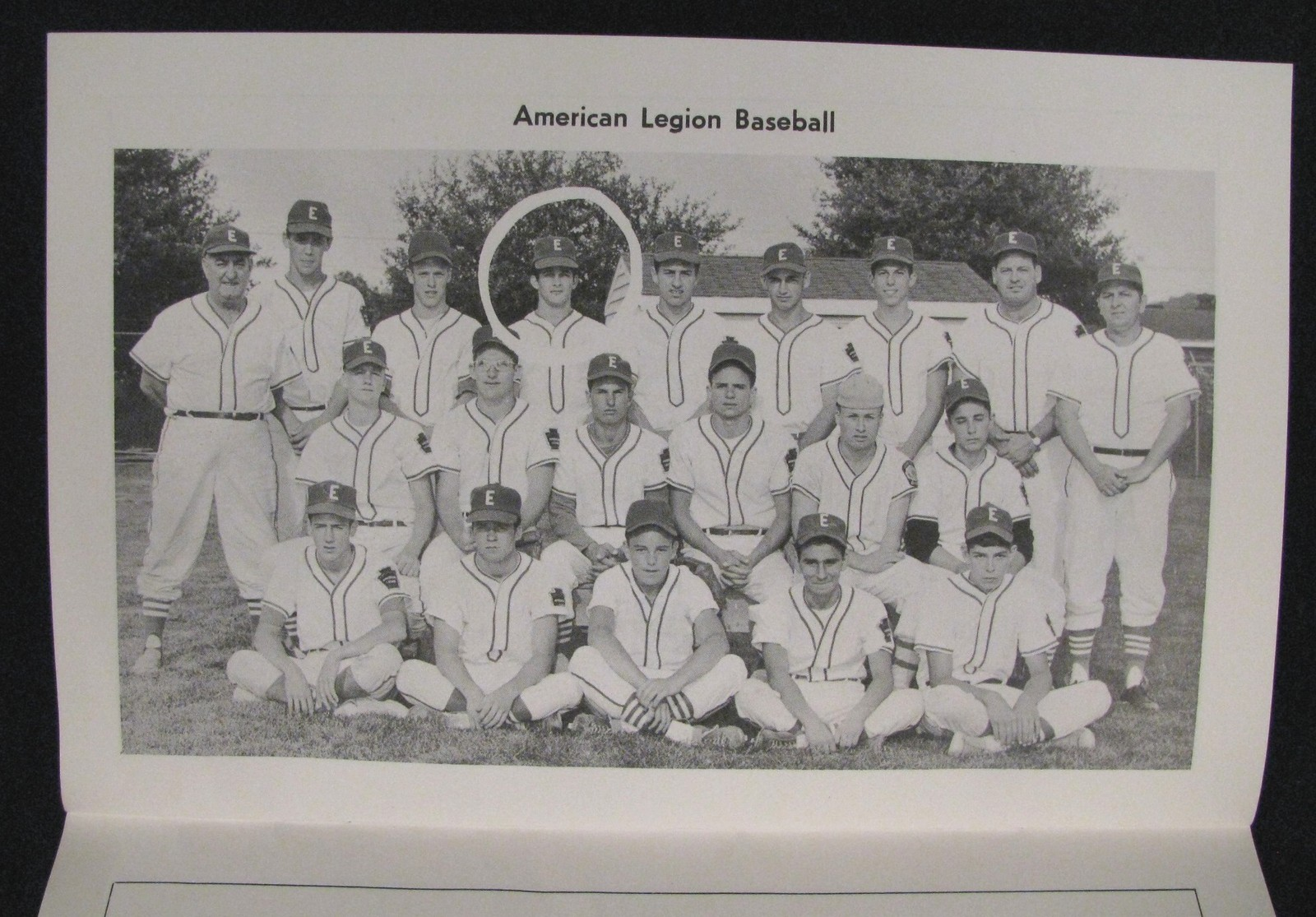 BOB MOOSE, AMERICAN LEGION DAYS